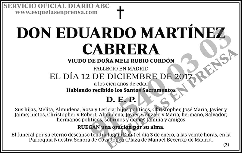 Eduardo Martínez Cabrera